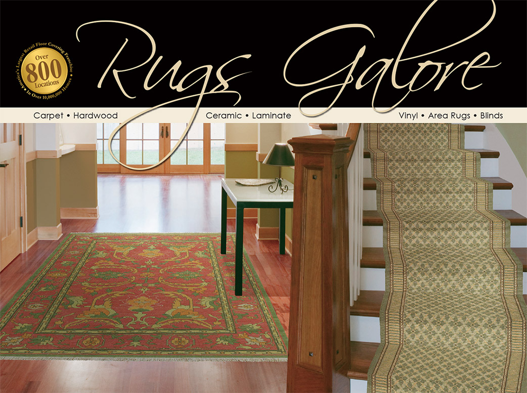Rugs Galore. Visit our large area rug gallery. Hundreds of styles & colors to choose from.